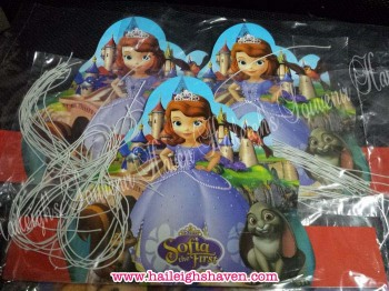 PARTY HATS (Die-Cut, 10s): SOFIA THE FIRST