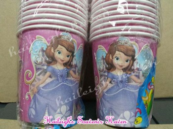 PAPER CUPS [10s]: SOFIA THE FIRST