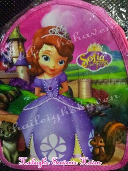 BACKPACK: SOFIA THE FIRST (Small)