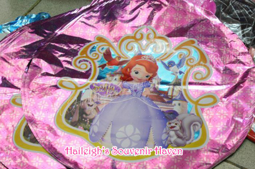Sofia the First Balloon (Foil Pack - 10s)