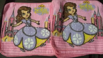 FACE TOWEL (12s): SOFIA THE FIRST