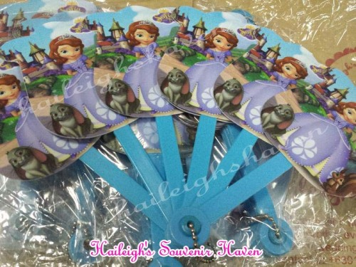 Sofia the First Folding Fan