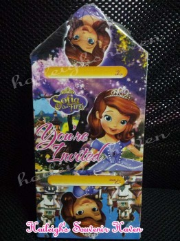 INVITES (Ready Made): Sofia the First