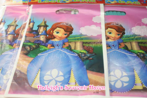 Sofia the First Loot Bags (Small)