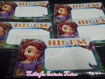 NAME TAGS: SOFIA THE FIRST