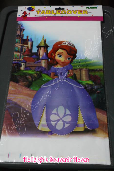 Sofia the First Plastic Table Cover