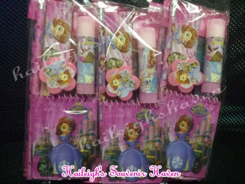 Sofia the First Pencil Set