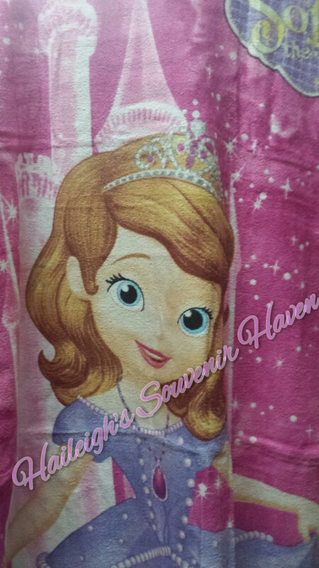 Sofia the First Bath Towel