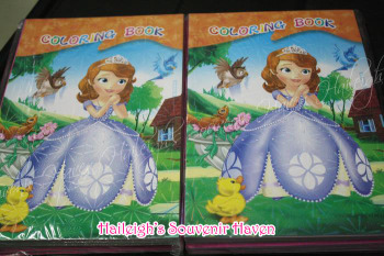 COLORING BOOK (SMALL, 12s): SOFIA THE FIRST