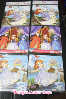 PUZZLE SET(3-IN-1): SOFIA THE FIRST