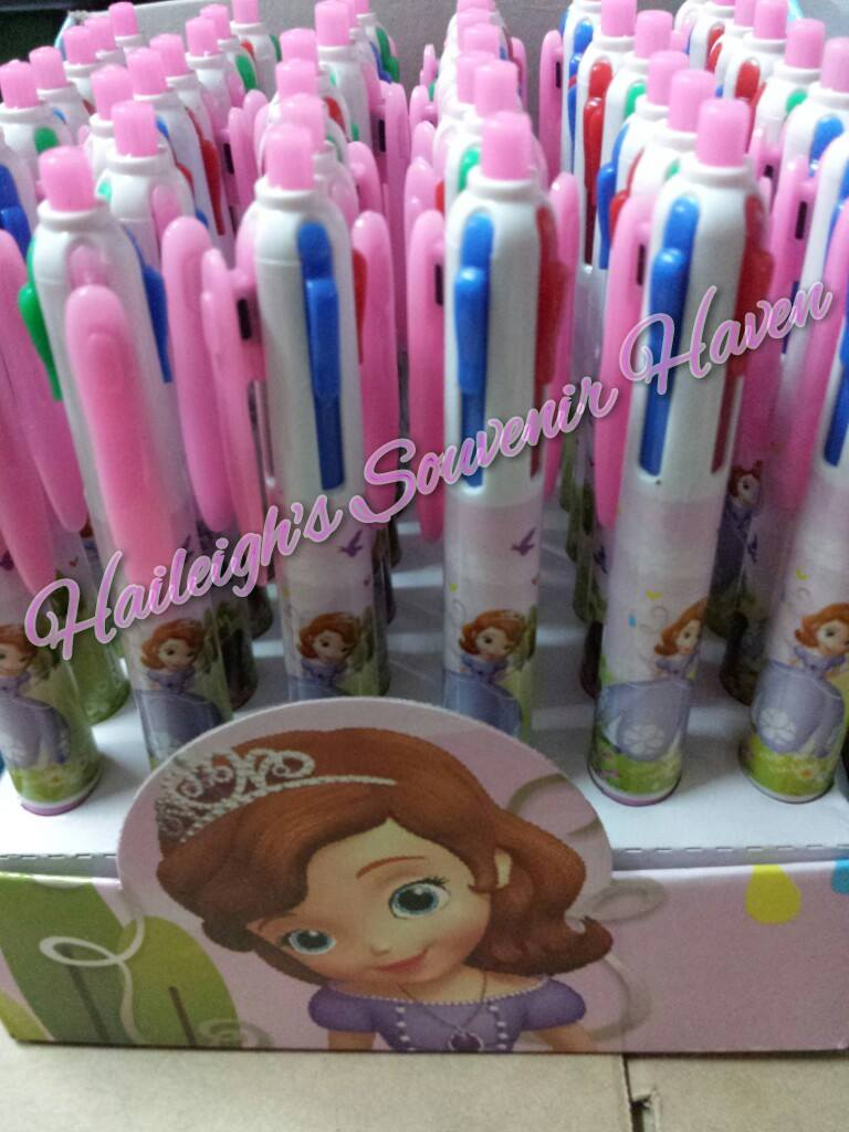 Sofia the First Multicolor Character Pens