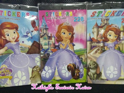 Sofia the First Sticker Book