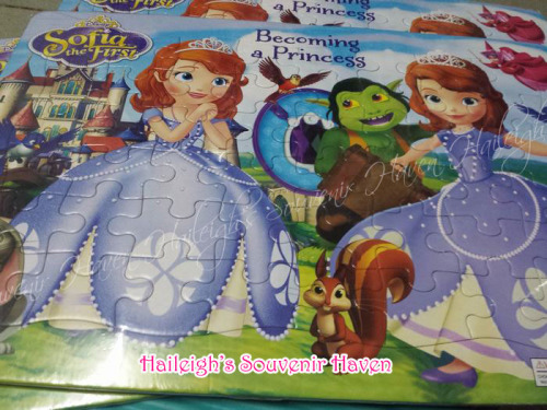 Sofia the First Puzzle XL