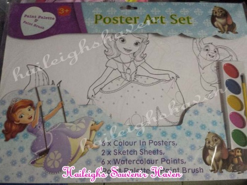 Sofia the First Poster Art Set (Small)