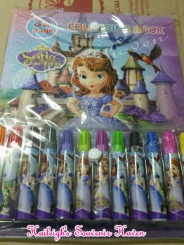 COLORING BOOK (HIGH QUALITY): SOFIA THE FIRST