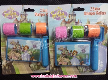 STAMP SET (ROLLER): SOFIA THE FIRST