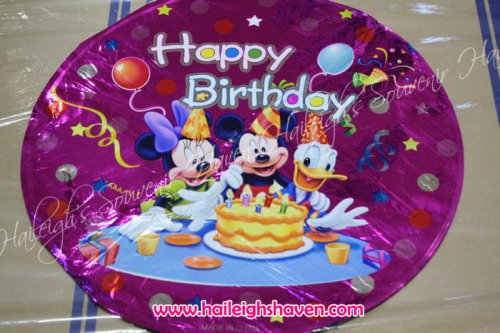 Mickey Mouse and Friends Foil Balloon