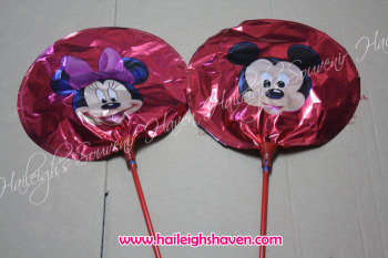 BALLOON (MINI-FOIL, 20s): MICKEY MOUSE