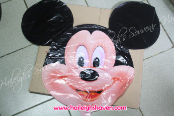 BALLOON (DIE-CUT): MICKEY MOUSE (HEAD)