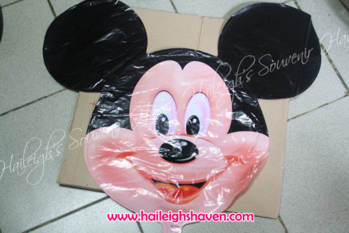 Mickey Mouse Balloon (Shaped, Head)