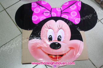BALLOON (DIE-CUT): MINNIE MOUSE (HEAD)