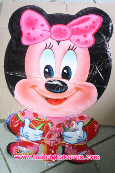 BALLOON (DIE-CUT): MINNIE MOUSE (WHOLE BODY)