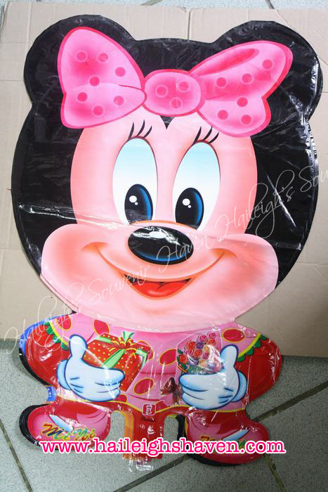 Minnie Mouse Balloon (Shaped, Whole Body)