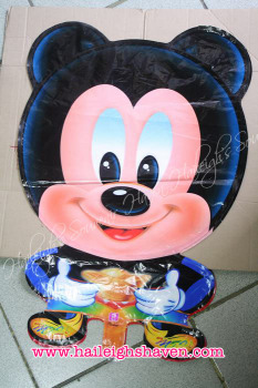 BALLOON (DIE-CUT): MICKEY MOUSE (WHOLE BODY)