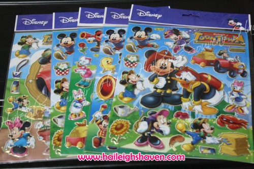 Mickey Mouse and Friends Laser Sticker