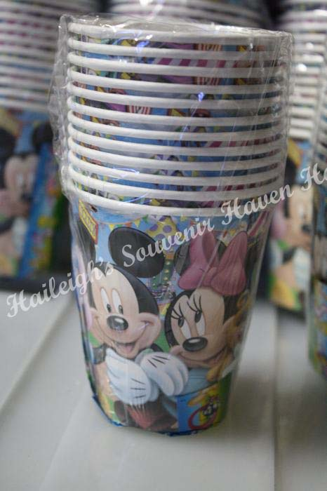 Mickey Mouse and Friends Paper Cups