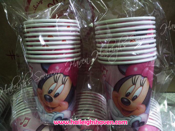 PAPER CUPS [10s]: MINNIE MOUSE