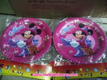 PAPER PLATES [10s]: MINNIE MOUSE