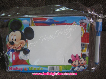 MINI-WHITEBOARD (12s): MICKEY AND FRIENDS