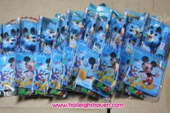 PENCIL SET (12s): MICKEY MOUSE