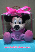 STUFFED TOY (STANDING): MICKEY OR MINNIE MOUSE