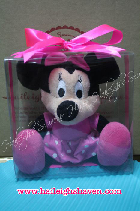Mickey and Minnie Mouse Stuffed Toy (Standing)