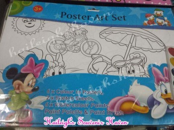 POSTER ART SET: MICKEY AND FRIENDS