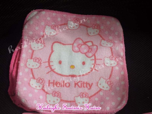 Hello Kitty Face Towel