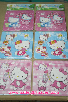 PUZZLE SET(3-IN-1): HELLO KITTY