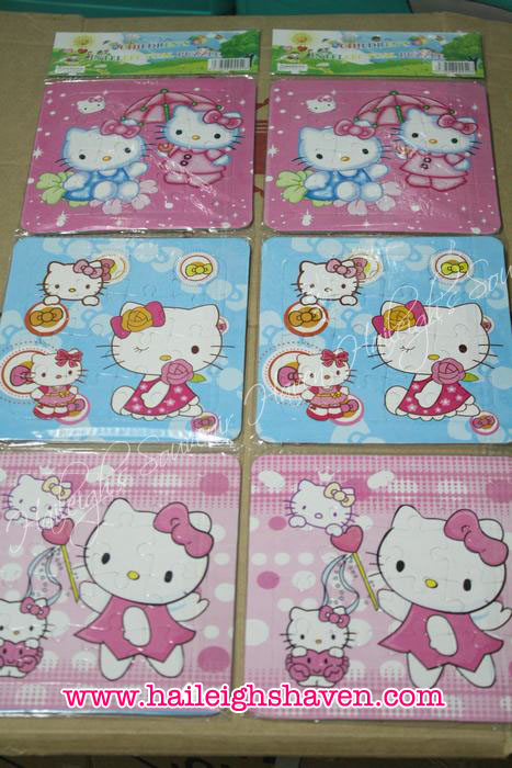 Hello Kitty Puzzle Set (3-pc)
