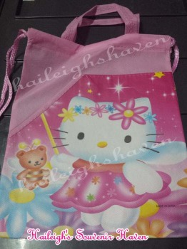 DRAWSTRING BAG (BIG, 12s): HELLO KITTY