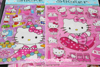 LASER STICKER (10s): HELLO KITTY
