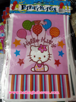 LOOT BAGS (SMALL): HELLO KITTY
