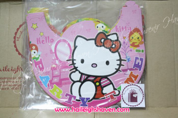 PARTY HATS (Regular, 10s): HELLO KITTY