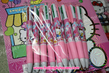 MULTICOLOR INK PEN (12s): HELLO KITTY