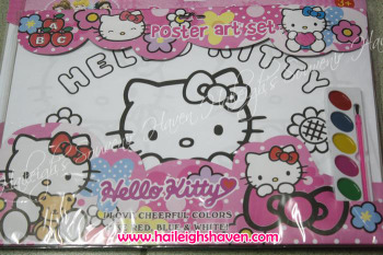 POSTER ART SET: HELLO KITTY