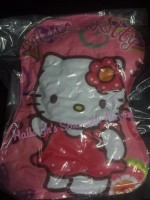 VACUUM PILLOW: HELLO KITTY