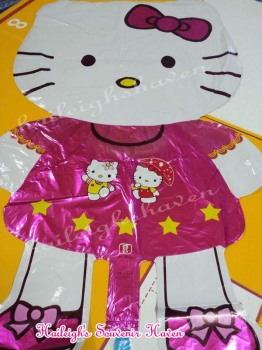 BALLOON (DIE-CUT, FOIL): HELLO KITTY (LARGE)