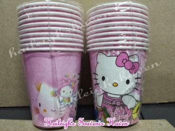 PAPER CUPS [10s]: HELLO KITTY