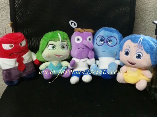 Inside Out Stuffed Toy Set